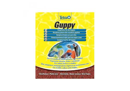 Корм Tetra Guppy, 12г (пакетик)