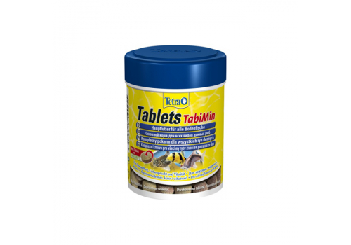 Корм Tetra TabiMin Tablets, 66мл, 120таб