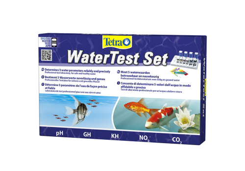Набор тестов Tetra Water Test gH/kH/NO2/pH/СО2