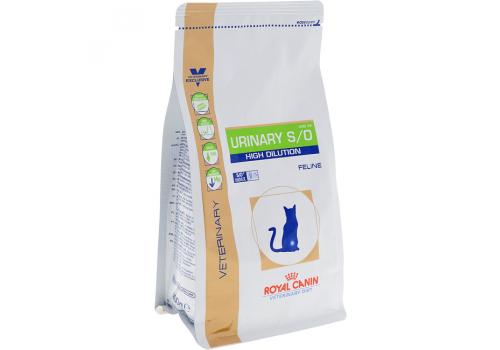 Диета Royal Сanin Urinary S/O High Dilution UHD34 для кошек, при лечении МКБ 400г