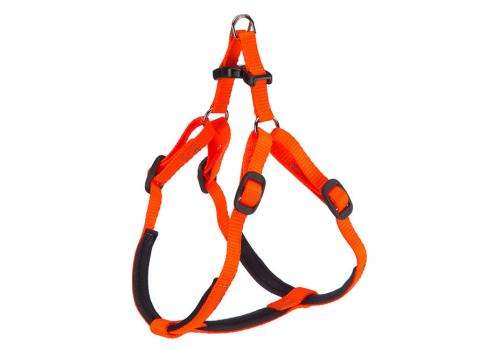 Шлейка Ferplast Daytona P Medium для собак, оранжевая (51-61см)