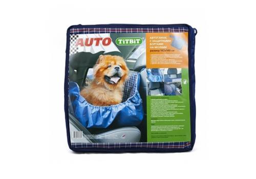 Автогамак для собак Titbit 8581, c бортами