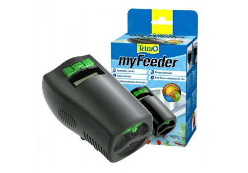 Автоматическая кормушка Tetra myFeeder, черная