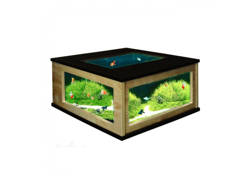Аквариум Aquatlantis Table 100, 310л, венге-дуб