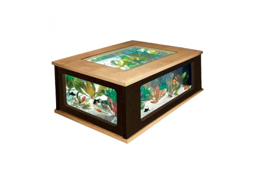 Аквариум Aquatlantis Table 130, 310л, венге-дуб
