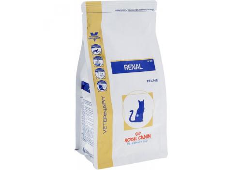 Диета Royal Сanin Renal RF23 для кошек, при почечной недостаточности 500г