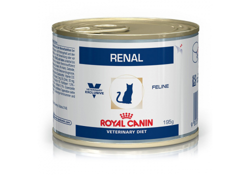 Диета Royal Сanin Renal RF23 для кошек, при почечной недостаточности 195г