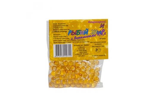 Рыбий жир №1 с витаминами А,Д,Е 100капс.