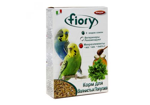 Корм для волнистых попугаев Fiory Pappagallini, 400г