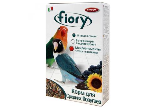 Корм для средних попугаев Fiory Parrocchetti Africa, 800г
