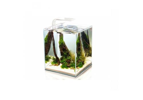 Аквариум Aquael Shrimp Set Smart Plant 10, 10л, белый