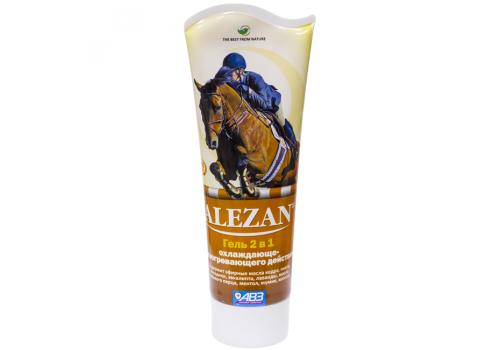 Алезан Гель 2 в 1 охлаждающе-разогревающего действия для лошадей, 250мл