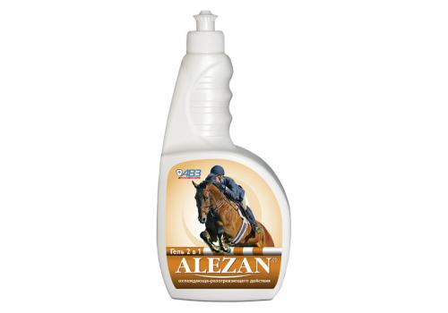 Алезан Гель 2 в 1 охлаждающе-разогревающего действия для лошадей, 500мл