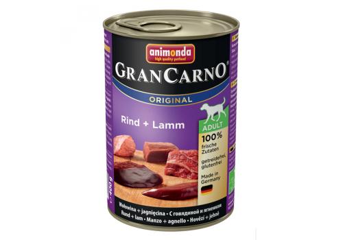 Консервы Animonda Gran Carno Original для собак, с говядиой и ягненком 400г