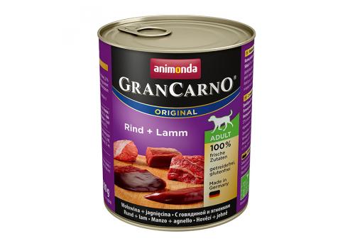 Консервы Animonda Gran Carno Original для собак, с говядиой и ягненком 800г
