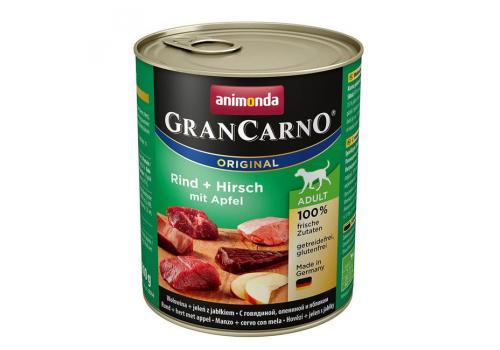 Консервы Animonda Gran Carno Original для собак, с говядиой, олениной и яблоком 400г