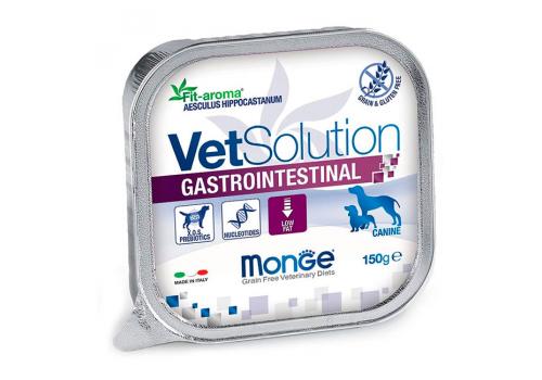 Консервы Monge VetSolution Dog Gastrointestinal диета для собак Гастроинтестинал, 150 г