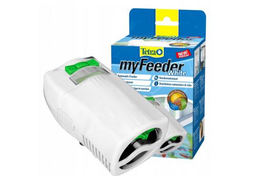 Автоматическая кормушка Tetra myFeeder, белая