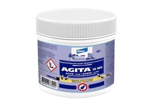 Агита (Agta 10WG), препарат для уничтожения мух и ос и других насекомых 0.4кг
