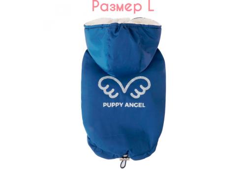"""Куртка-безрукавка на меху """"Ангел"""" Puppy Angel 433 PA-OW, Синий#728, размер L"""