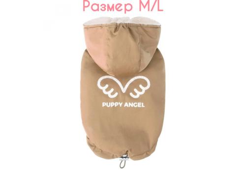 "Куртка-безрукавка на меху ""Ангел"" Puppy Angel 433 PA-OW, Бежевый#15, размер M/L"