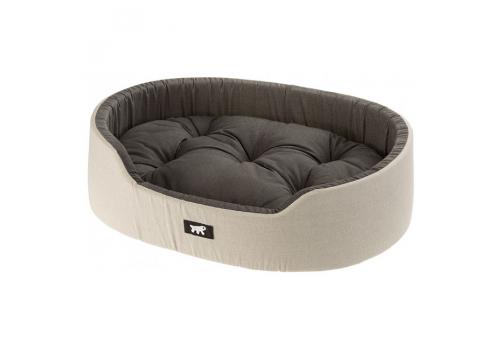 Софа Ferplast Dandy C110 для собак и кошек, серый с черным, 110х70х23 см