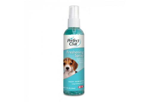 Спрей 8in1 Freshening Spray Baby Powder ароматизированный для кошек (пудра), 119мл.
