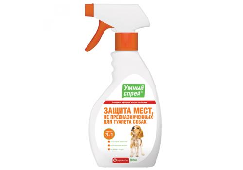 Спрей Умный Apicenna Защита мест НЕ предназначенных для туалета для собак, 200мл