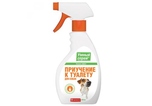 Спрей Умный Apicenna Приучение к туалету для собак, 200мл