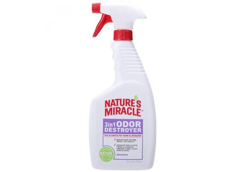 Спрей NM 3in1 Odor Destroyer уничтожитель запахов в воздухе и на поверхностях, 709мл