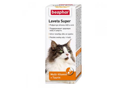 Beaphar Laveta Super Кормовая добавка для кошек 50мл