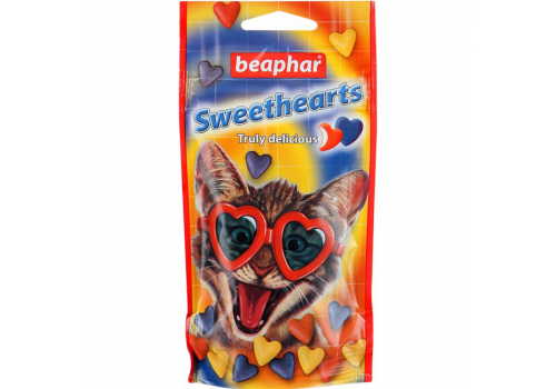 Beaphar Sweet Hearts Витамины для кошек 52.2г