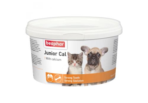 Beaphar Junior Cal Кормовая добавка для котят и щенков 200г