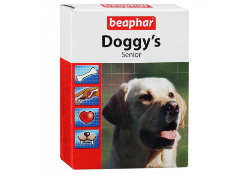 Beaphar Doggy's Senior витамины для пожилых собак 75таб.