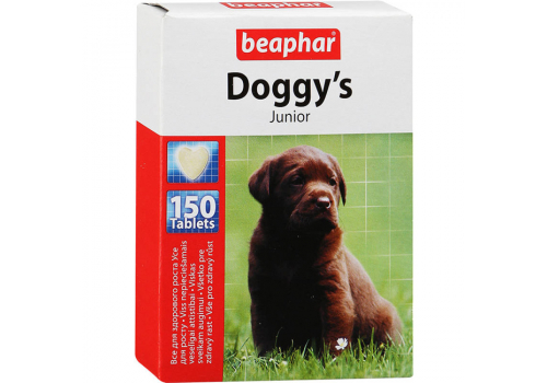 Beaphar Doggy's Junior витамины для щенков 150таб.