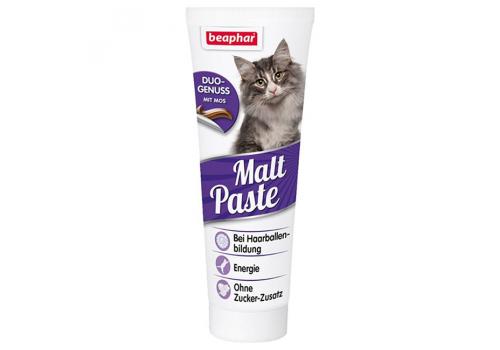 Beaphar Duo Malt Paste Паста для выведения шерсти для кошек 100г