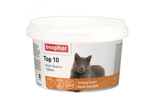Beaphar Top 10 Кормовая добавка для кошек 180таб.
