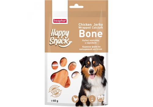 Beaphar Happy Snack Куриное филе на кальциевой косточке для собак 60г