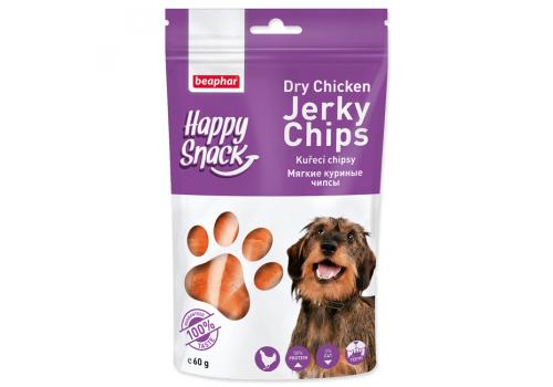 Beaphar Happy Snack Мягкие куриные чипсы для собак 60г