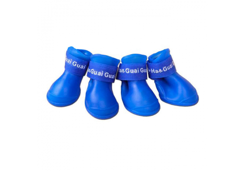 Ботинки резиновые для собак, размер L