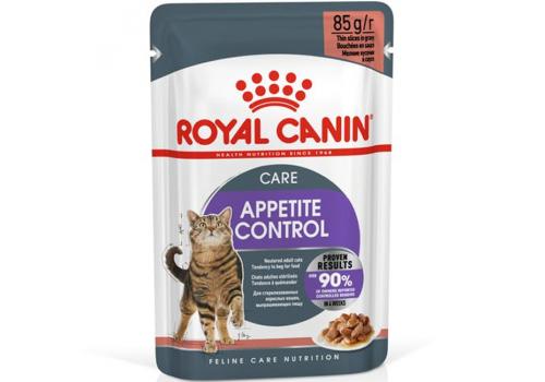 Корм влажный Royal Canin Аппетайт Контрол  для кошек 85г соус