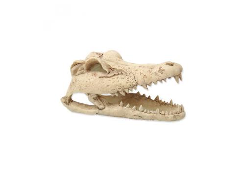 Декорация Череп крокодила для террариума