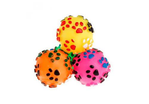 Игрушка для собак Nobby Мяч с Лапками, 7,5см
