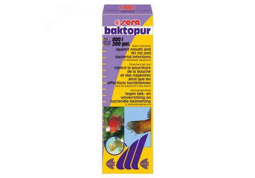 Средство для рыб Sera Bactopur, 50мл