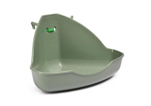 Туалет для грызунов Fauna Int. Miniloo, угловой