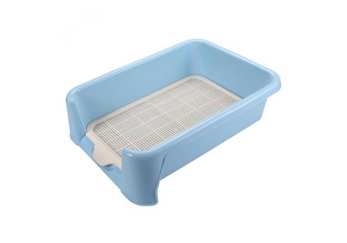 Туалет для собак Triol P652, с сеткой, 52*40*15см