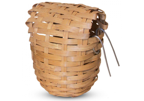 Гнездо-корзина Триол для птиц плетеное