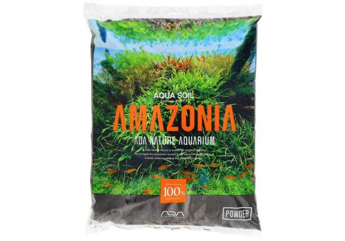 Грунт почвенный ADA Aqua Soil-NEW Amazonia Powder 3л черный
