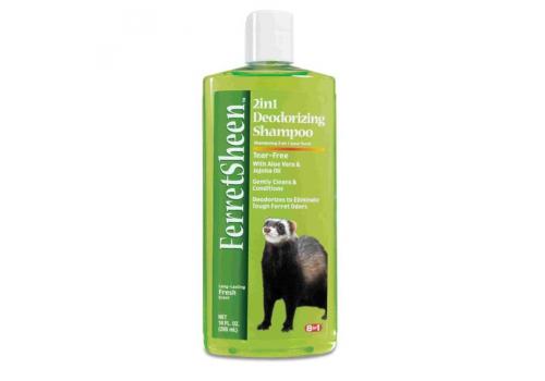 Шампунь 8in1 Ferretsheen Shampoo 2in1 дезодорирующий для хорьков, 295мл