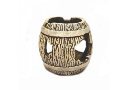 Декорация керамическая Бочка большая 11х11х11см
